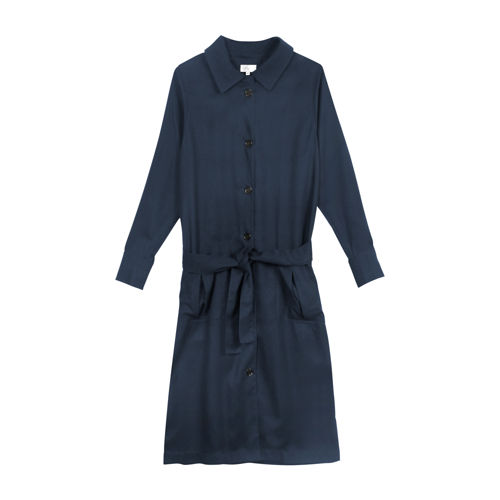 MASKA SS16 Pascale coat 100% Tencel