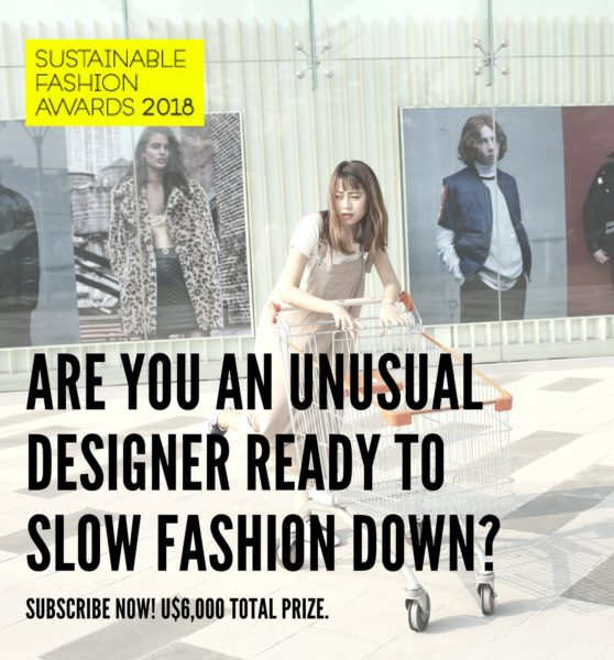 Sustainable Fashion Awards 2018 – zaczynamy nagradzać etyczne marki!
