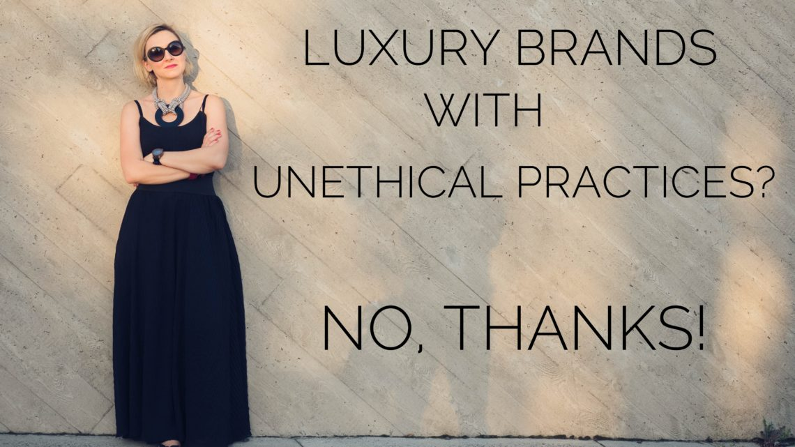 Luxury – excessive waste or exceptional standards?