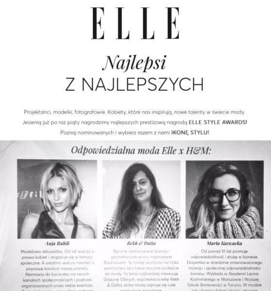 Nominacja ELLE
